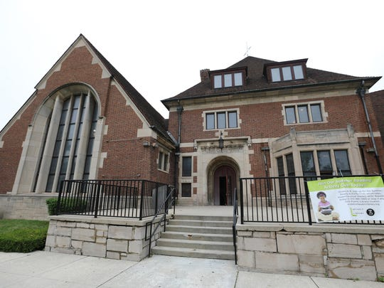 Parkman Branch, a Detroit Public Library on Oakman boulevard in Detroit on Wednesday, June 20, 2018. (Kimberly P. Mitchell/Detroit Free Press/TNS)