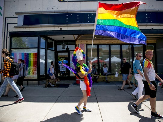 Ferndale Pride festivities run Saturday from the early morning until 10 p.m.