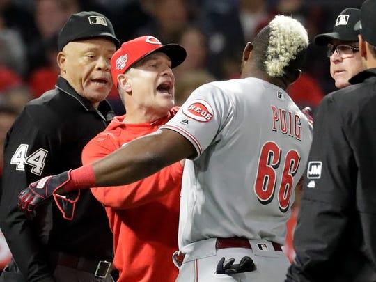 Cincinnati Baseball Reds Drop Series Opener With Angels