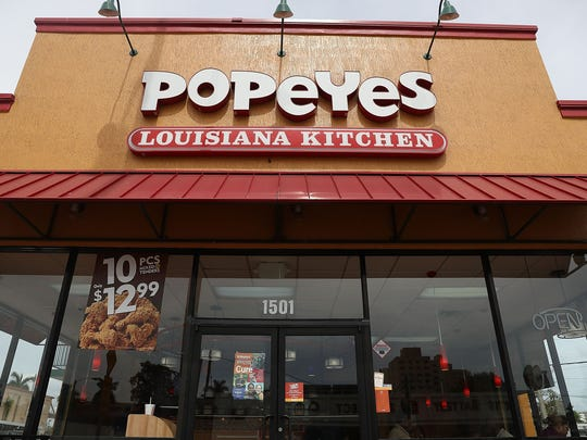 Customer pulls gun on Popeyes employees over chicken sandwiches, police say