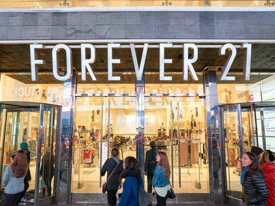 Forever 21's troubles risk leaving shopping centers with millions of square feet of vacant space.