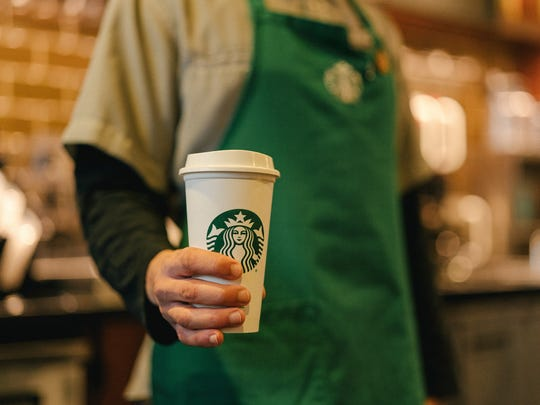 Starbucks is giving away free coffee in December for first-responders and health care workers.