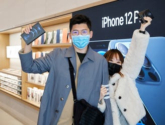 iPhone 12 Mini and 12 Pro Max launched in China on Friday.