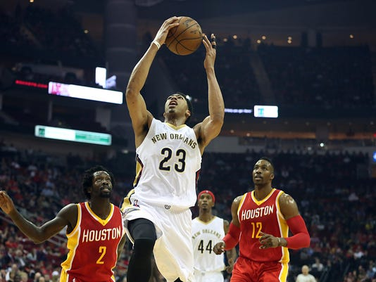 NBA: New Orleans Pelicans at Houston Rockets
