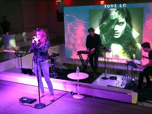 iHeartMedia Appy Hour Event Featuring A Performance By Tove Lo At iHeartMedia's Midtown Office