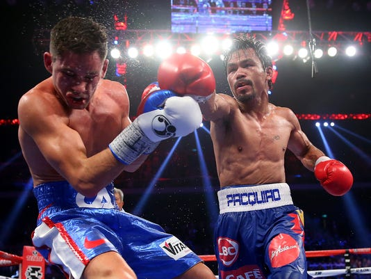 *** BESTPIX *** Clash In Cotai II - Manny Pacquiao v Chris Algieri