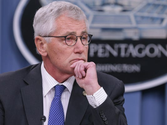 FILE: Defense Secretary Chuck Hagel Resigns