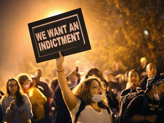 2014 PICTURES OF THE YEAR: Activists Protest For Justice After Police Shootings