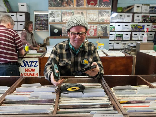 Brad Hales owns Peoples Records in Detroit.