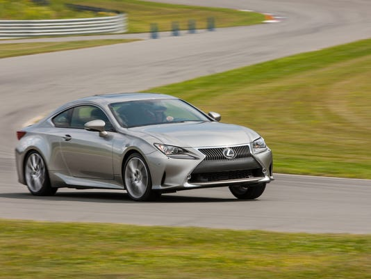 Lexus continues to forge its own path with the stylish RC350