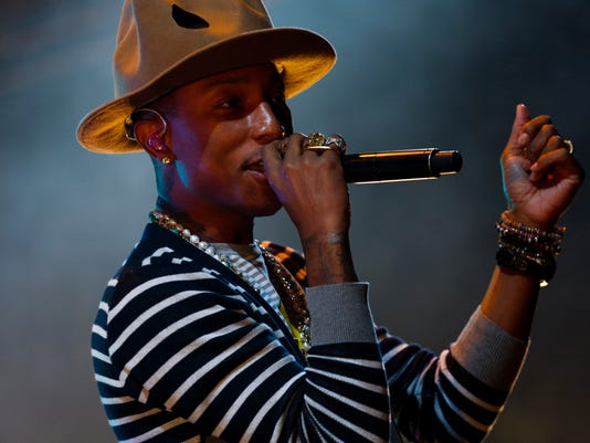 Did anyone have a more stylish, successful and 'Happy' year than Pharrell Williams?