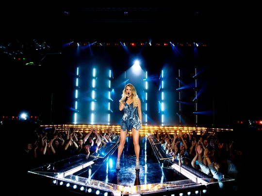 "Country superstar Carrie Underwood will once again get football fans revved up each week for ""Sunday Night Football."""