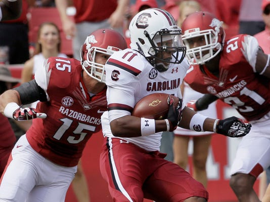 South Carolina Arkansas Football