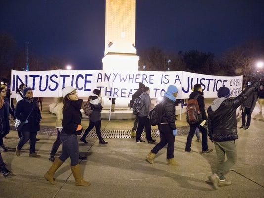 "Activists Call For Mass ""Hands Up"" Walkouts Across U.S."