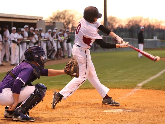 5 Crockett County Seth Permenter gets a hit Monday eve against MIlan at Croc.JPG