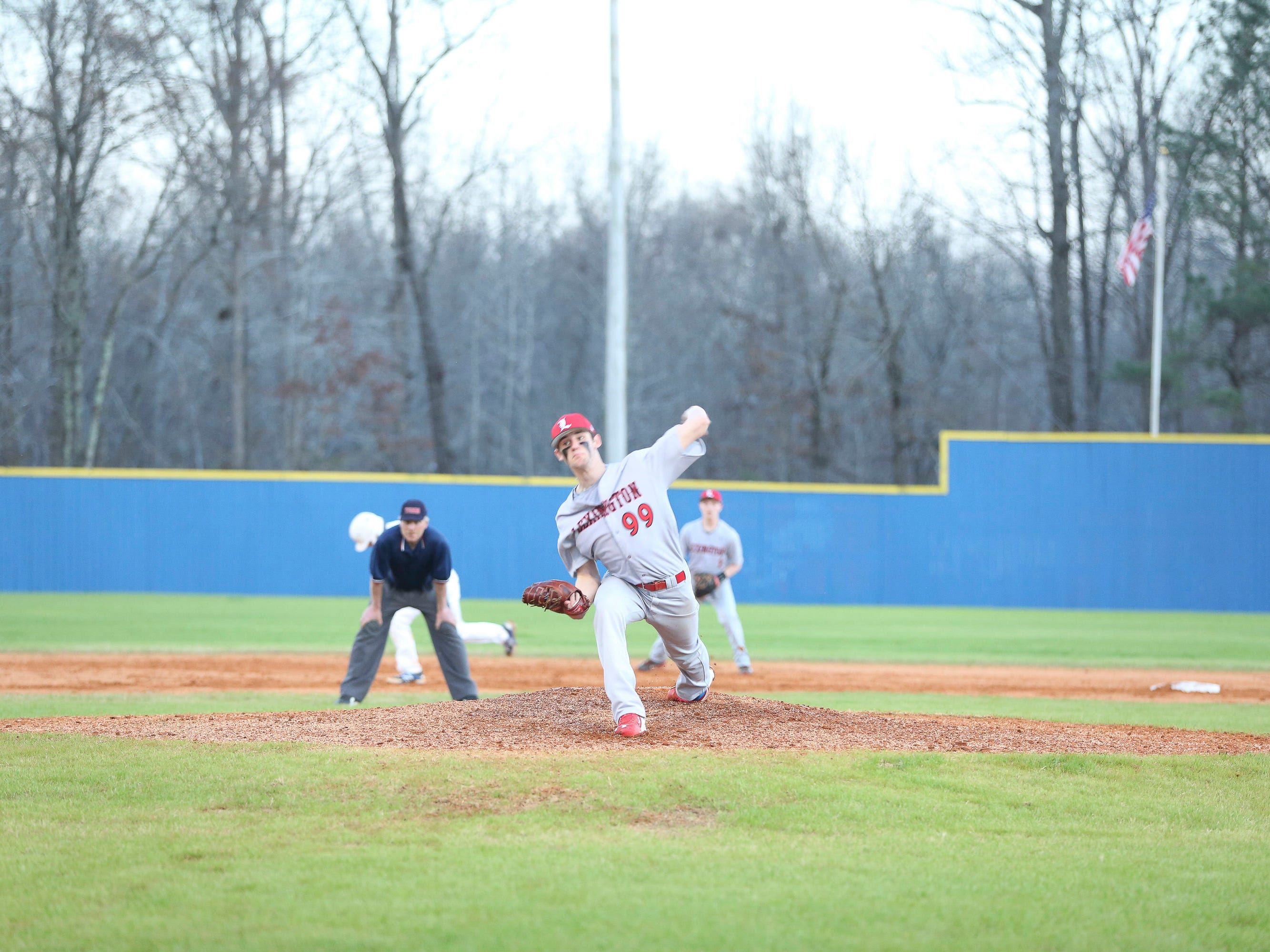 Lexington pitcher Ethan Small says that MLB scouts attending his games does not affect him.
