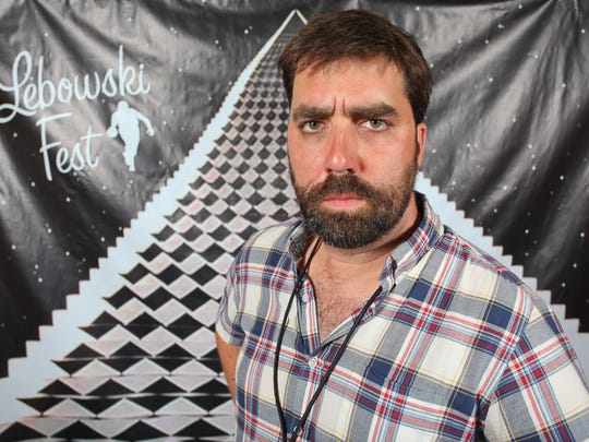 Lebowski Fest co-founder Will Russell, who has staged more than 60 festivals in more than 30 cities.