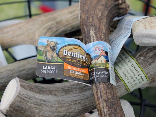 Among the more obscure offerings are elk antlers, which guarantee a long chew for dogs.