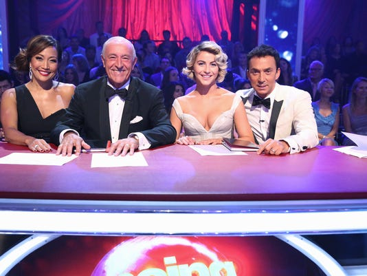 CARRIE ANN INABA, LEN GOODMAN, JULIANNE HOUGH, BRUNO TONIOLI