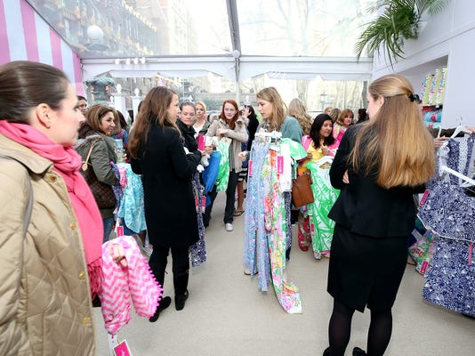 Lilly Pulitzer For Target Pop-up Shop Activation