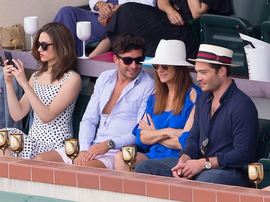 The Moet and Chandon Suite at the 2015 BNP Paribas Open - Day 14