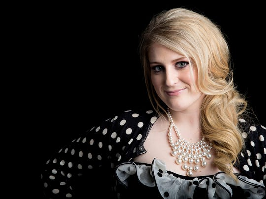 """Singer-songwriter Meghan Trainor, known for the pop single """"All About That Bass,"""" performs Saturday at The Dinah."""