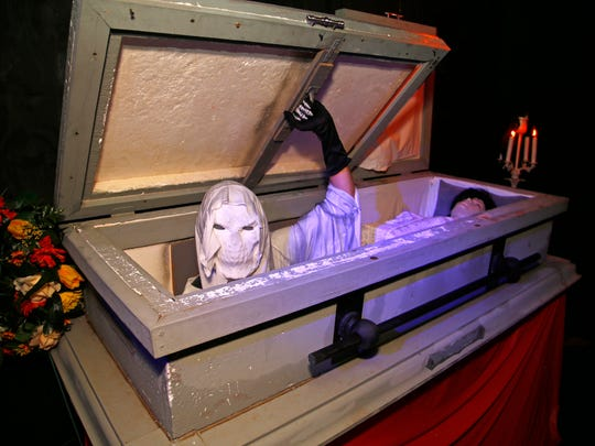 The Crypt Haunted Attractions at Fiesta Mall in Mesa