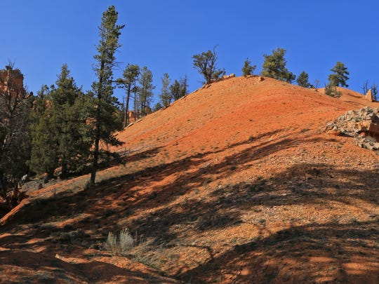 The Cabin Hollow Road on the eastern side of Red Canyon provides even more variety in the Dixie National Forest between Panguitch and Bryce Canyon National Park.