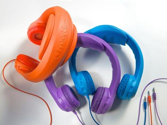 Kid-safe headphones