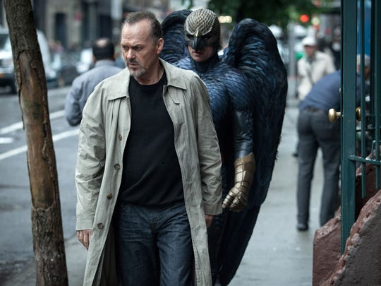 "In this image released by Fox Searchlight Pictures, Michael Keaton portrays Riggan in a scene from ""Birdman."" Keaton was nominated for an Oscar Award for best actor on Thursday, Jan. 15, 2015, for his role in the film. The 87th Annual Academy Awards will take place on Sunday, Feb. 22, 2015 at the Dolby Theatre in Los Angeles. (AP Photo/Fox Searchlight, Atsushi Nishijima) ORG XMIT: NYET417"