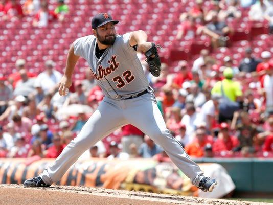 MLB: Detroit Tigers at Cincinnati Reds