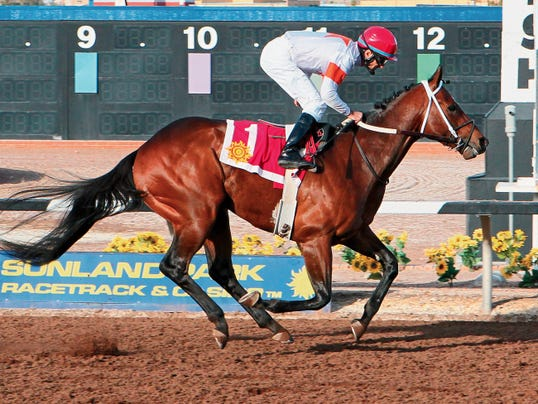 El Pasoan Casey Lambert will be aboard Cinco Charlie on Saturday at the Mine That Bird Derby at The Casino at Sunland Park Racetrack, one of the track's biggest races this season. Lambert is a Coronado High School graduate.