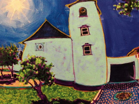 Ray Baird, whose  work is shown here, is a featured artist for April at the Mesilla Valley Fine Arts Galllery in Mesilla. The gallery features more than 30 artists.