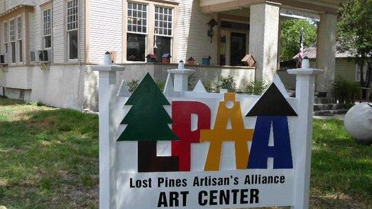 The LCRA and city of Smithville recently awarded the Lost Pines Artisans Alliance a $22,900 grant to replace the roof and improve the bathroom at the Mary Nichols Arts Center, where the alliance is housed.