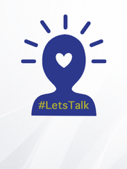 The #LetsTalk app was developed by Rachel Zimmerman