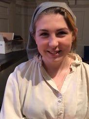 Eastchester High School senior Aleksandra Gallan is