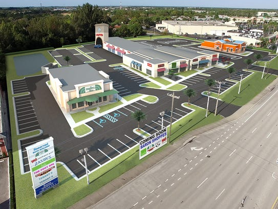 Baron Shoppes is proposed to open in Stuart in late