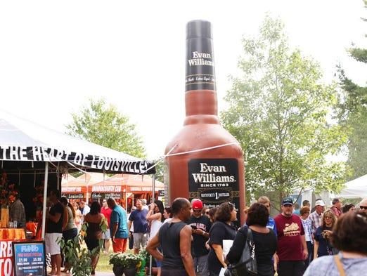 Bardstown hosts the Kentucky Bourbon Festival, September