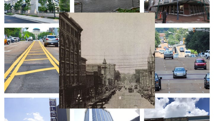 How does downtown Jackson look now compared to back then?