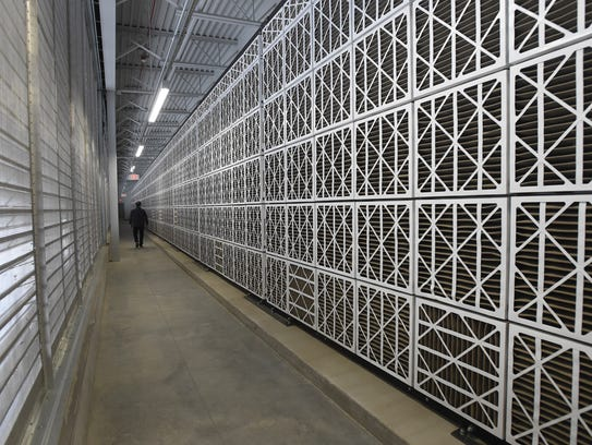 Apple's Reno data center, Jan. 16, 2018.