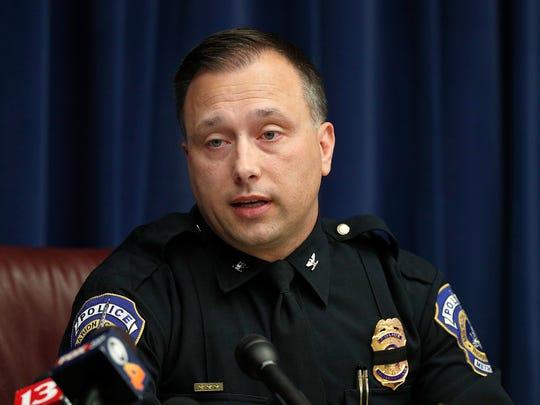 Former IMPD Deputy Chief Chris Bailey