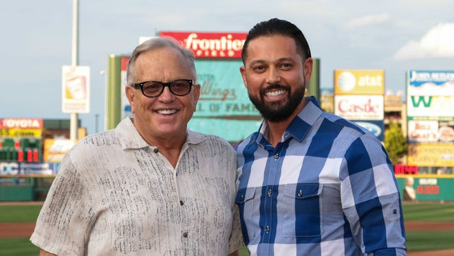 Merv Rettenmund and Jason Bartlett were inducted into the Red Wings Hall of Fame on Friday at Frontier Field.