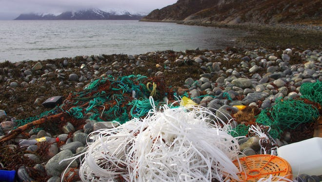Adidas is attempting to make clothes out of plastic found in the ocean.