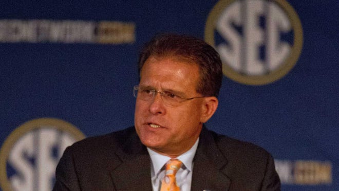 Auburn head coach Gus Malzahn and the Tigers program begin Southeastern Conference football media days week Monday.