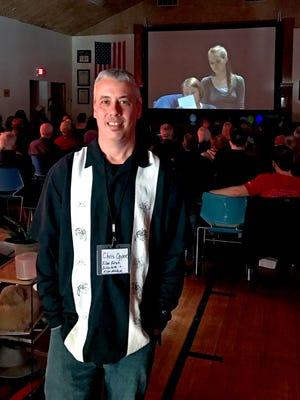 Chris Opper, founder of the Door County Short Film Fest.