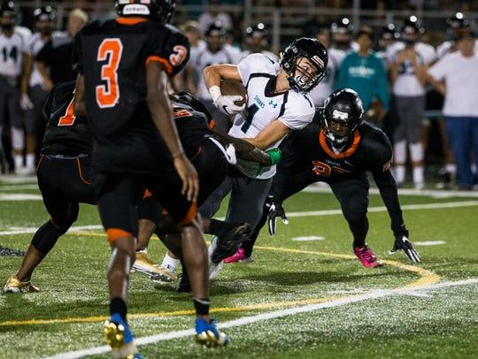 Gulf Coast High School wide receiver Brandon Hannon