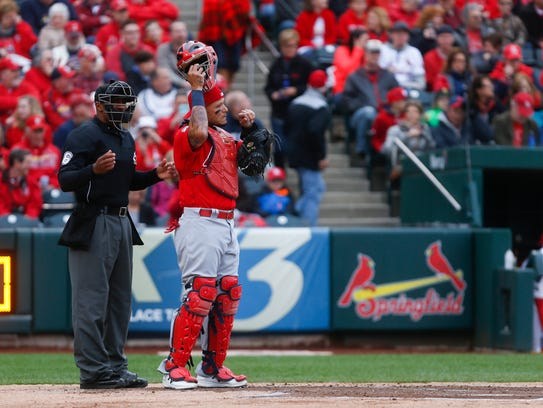 St. Louis Cardinals catcher Yadier Molina will put in some appearances at Hammons Field as he recuperates from a groin injury.