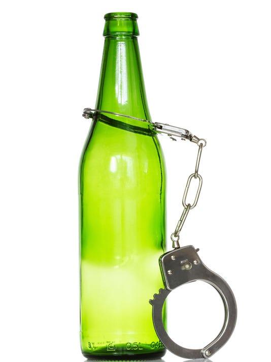 webart police arrest liquor alcohol