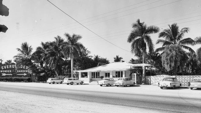 Everglades Wonder Gardens in the 1950's. The city of Bonita Springs is working with a nonprofit to save the landmark.