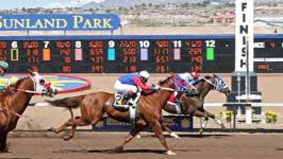 The live horse racing season at Sunland Park Racetrack
